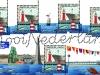 Scheveningen Lighthouse, Scheveningen North Mole Light (foreground of stamp) and Van der Valk Pier Light (lower right of sheet) | Scott ?, Mi ?, SG ?, WADP ? | 23 May 2016