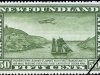 Fort Amherst & Chain Rock Lights | 5 Jun 1931 (wmkd) - Image source: Canada Post Corp.