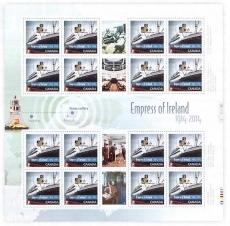 Empress of Ireland Light Buoy | Scott 2745, Mi ?, SG ?, WADP CA036.14 | 29 May 2014