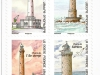 Lighthouses of France | 5 Aug 2019 | booklet pane