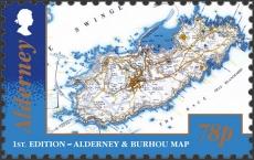 Alderney L/H | Sc ?, Mi ?, SG ?, Yt ? | 1 Feb 2017