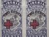 Cape Palmas L/H | 1918 | imperf pair