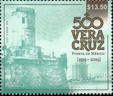 Veracruz (San Juan de Ulúa) L/H | Sc ?, Mi ?, SG ?, Yt ?, WADP ? | 17 Apr 2019