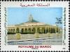 Former site of aerobeacon | 7 Nov 2006 | Hassan II Mosque - Image source: Universal Postal Union