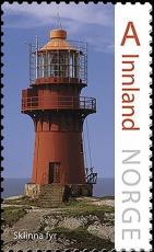 Sklinna Lighthouse | Scott 1806, Mi 1922, SG ?, Yt 1861, WADP ? | 1 Oct 2016