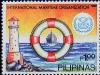 Stylized lighthouse, 13 Nov 1989
