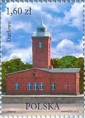 Darlowo Lighthouse | Scott 4080a, Mi 4609, SG ? | 14 Jun 2013