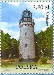 Czolpino Lighthouse | Scott 4080d, Mi 4612, SG ? | 14 Jun 2013