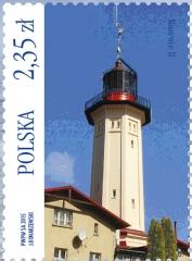 Rozewie (Rixhöft) West Tower Lighthouse   Scott 4176a,  Mi 4769, SG ?, WADP ?   19 Jun 2015