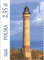 Świnoujście Lighthouse   Scott 4176c, Mi 4771, SG ?, WADP ?   19 Jun 2015