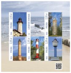 Polish Lighthouses 4th issue   Scott 4176, Mi BL240, SG ?, WADP ?   19 Jun 2015
