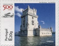 Torre de Belém | Scott ?, Mi 4190, SG ?, WADP PT090.16 | 22 Sep 2016 - Image source: Universal Postal Union http://www.wnsstamps.post/stamps/2016/PT/PT090.16.jpg