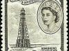 Sombrero Lighthouse, Scott 127, 1 Feb 1957