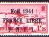 Point aux Canons L/H   1.25fr   1938-40   op Noël in black