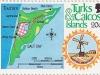 Location of Salt Cay L/H | Sc 506b, Mi 565, SG 676, Yt ? | 1 Dec 1981