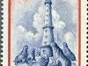 Isla de Lobos Lighthouse, Scott 611, 14 Jan 1954