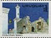 Puerto de Colonia Lighthouse, Scott 1070a, 18 Jun 1980
