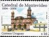 Montevideo Cathedral | Scott 2087, Mi 2839, SG 2924, WADP ? | 19 Oct 2004