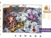 Canada 2000 postal card