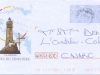 France pre-stamped envelope. Cape Finistere Lighthouse.