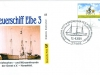 Germany envelope 2009 - Lightship Elbe 3