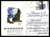 Russia pre-stamped envelope 1966