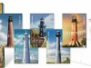 United States postal cards 2009 - Gulf Coast Lighthouses