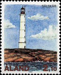 Sälskär lighthouse, Scott 65, 8 May 1992