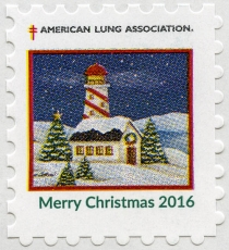 United States Christmas Seal 2016
