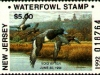 New Jersey Duck Stamp 1992