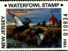New Jersey Duck Stamp 1994