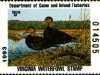 Virginia Duck Stamp 1993