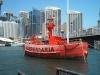 Carpentaria Lightship at Sydney Maritime Museum, Australia