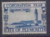 England City of Plymouth local post Coronation Year 1955