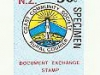 New Zealand Coast Community local post overprinted specimen 1988