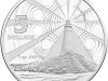 Australia 5 dollar silver coin, July 2015