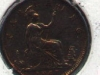Great Britain half-penny coin