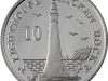 Isle of Man, Chicken Rock Lighthouse, 10 pence coin, 2015