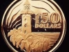Singapore 150 dollar coin