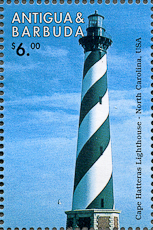 Cape Hatteras Lighthouse, Scott 2148, 20 Apr 1998