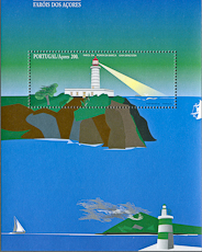 Ponta da Barco Lighthouse, Scott 441, 3 May 1996 3 May 1996