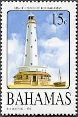 Bird Rock Lighthouse, Scott 1154, 6 Jul 2005