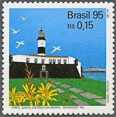 Santo Antônio Lighthouse, Scott 2552, 28 Sep 1995
