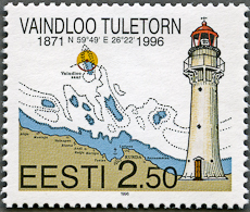 Vaindloo Lighthouse, Scott 309, 25 Sep 1996
