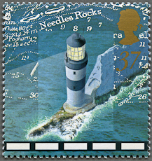 Needles Lighthouse, Scott 1806, 24 Mar 1998