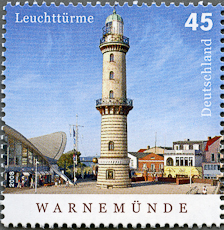 Warnemunde Lighhouse, Scott 2491, 3 Jul 2008