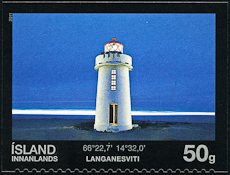 Langanes Lighthouse, Scott 1228, 17 Mar 2011