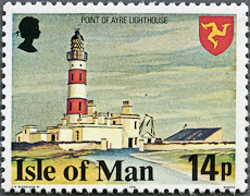 Point of Ayre Lighthouse, Scott 123, 28 Feb 1978