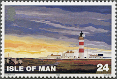 Point of Ayre Lighthouse, Scott 667, 27 Feb 1996