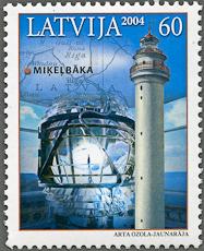 Mikelbaka Lighthouse, Scott 602, 18 Sep 2004